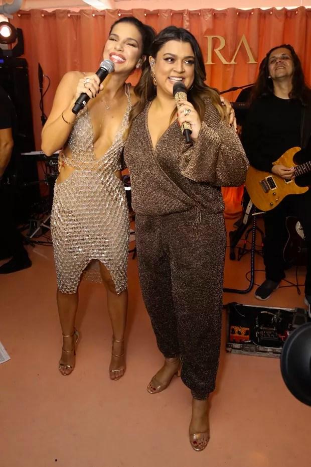 Mariana Rios e Preta Gil (Foto: Manuela Scarpa/Brazil News)