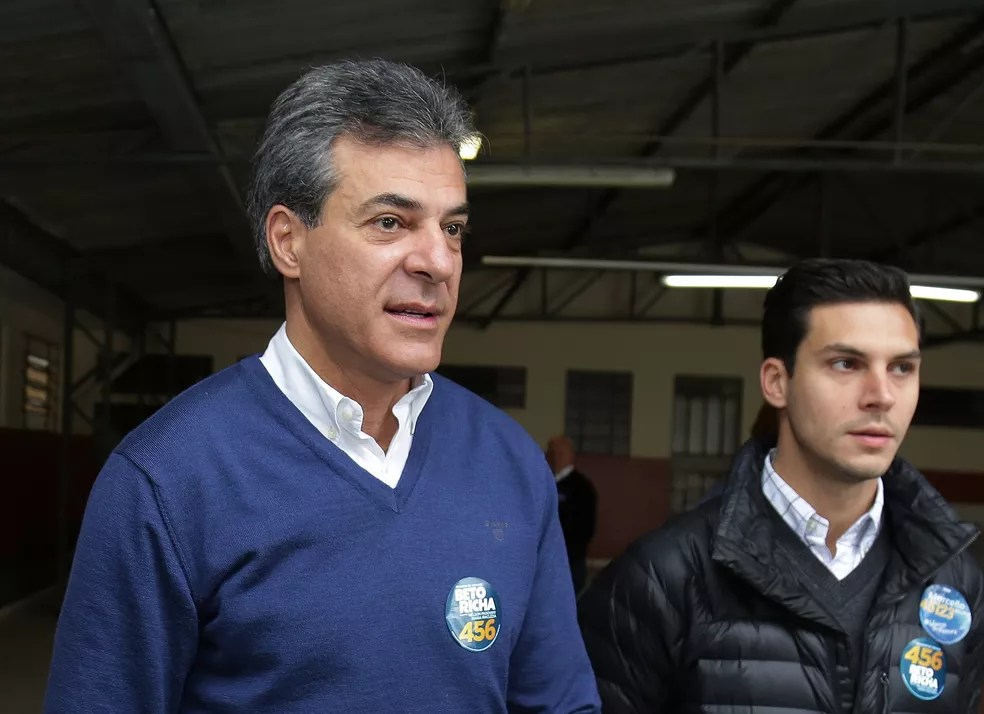 Beto Richa é réu em outros três processos — Foto: Giuliano Gomes/PR Press