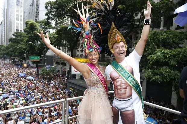 Sheron Menezzes e David Brazil (Foto: Felipe Panfili/ Ag.News)