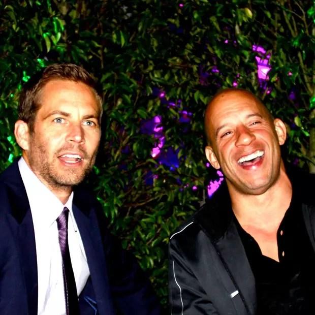 Paul Walker e Vin Diesel (Foto: Facebook/ Reprodução)