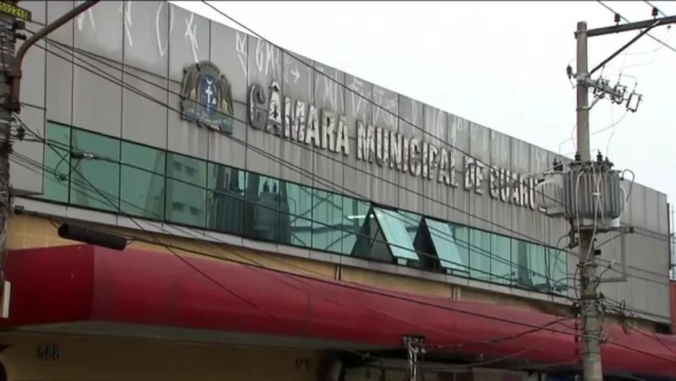 Sede atual da Câmara Municipal de Guarulhos é um prédio alugado (Foto: Aldieres Batista/Arquivo Pessoal)