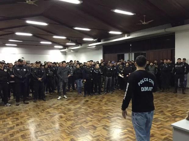 Operação Reflexo, tráfico de drogas, Rio Grande do Sul, São Paulo, Mato Grosso do Sul, Santa Catarina, Goiás (Foto: Divulgação/Polícia Civil)