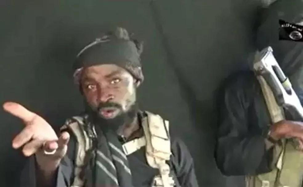 O líder do grupo extremista Boko Haram, Abubakar Shekau (Foto: Reprodução)