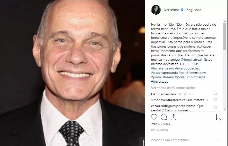 Lucia Verísismo (Foto: Reprodução Instagram)