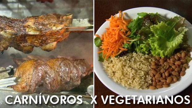 Globo Repórter entra na discussão entre os que comem carne e os vegetarianos (Rede Globo)