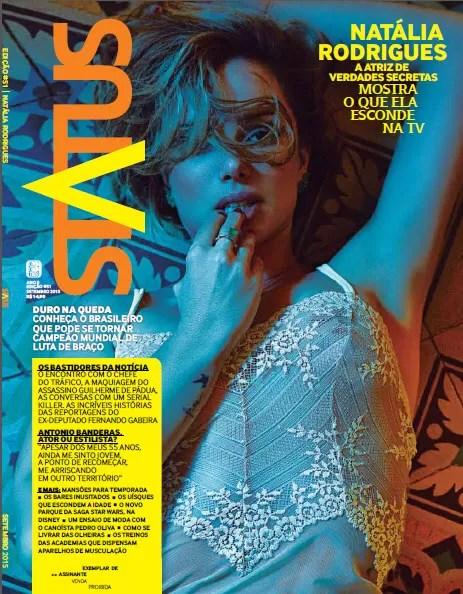 Natália Rodrigues mostra na revista Status  (Foto: Fernando Mazza/Revista Status)