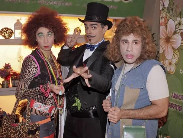 Valém e Janete trocam de corpo no episódio deste sábado (Foto: Rede Globo/ Rafael França)