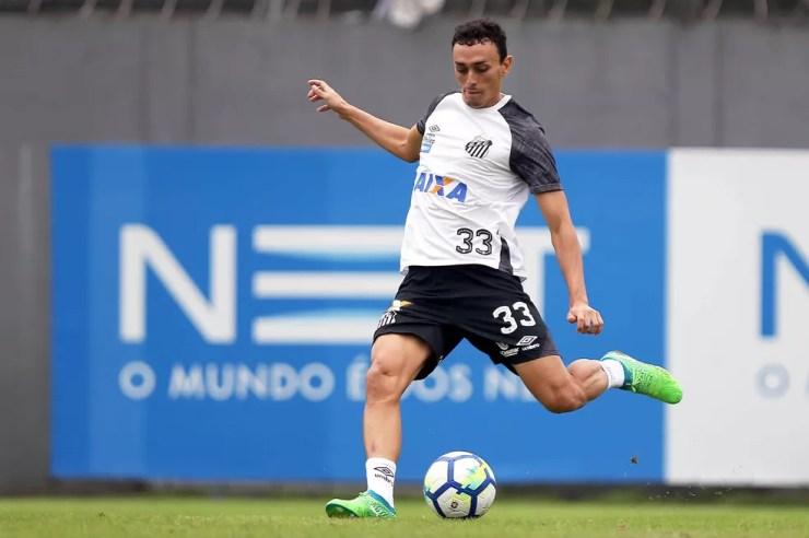 Diego Pituca viveu boa temporada no Santos — Foto: Pedro Ernesto Guerra Azevedo/Santos FC