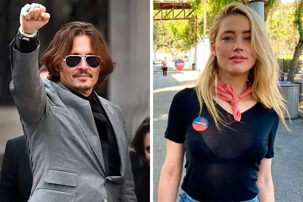 Johnny Depp and Amber Heard (Photo: Getty and reproduction)