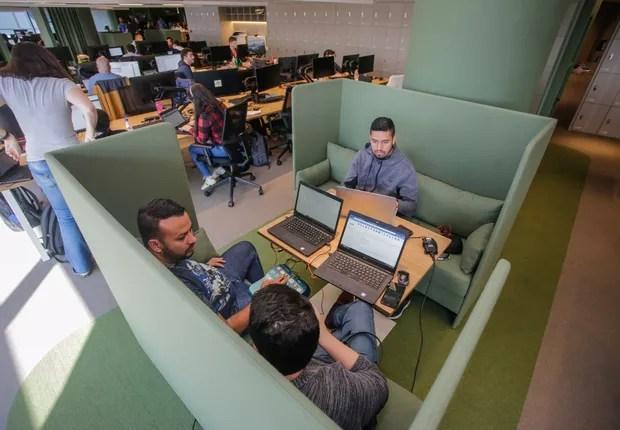 Nova sede agora conta com novos ambientes e formatos (Foto: Divulgação/Alpargatas)