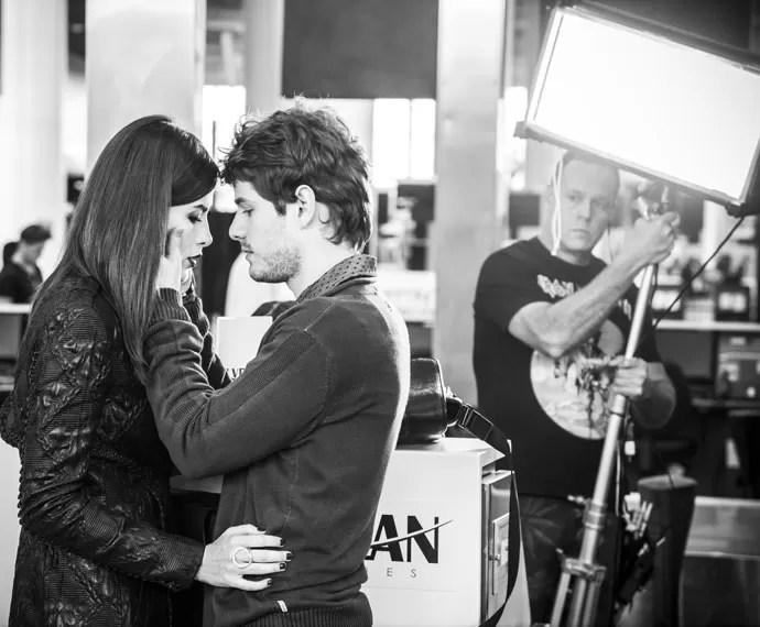 Maurício Destri também filmou com Maria Casadevall nos Estados Unidos (Foto: Raphael Dias/Gshow)
