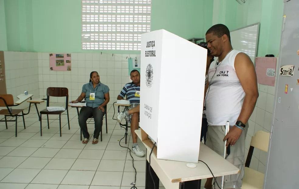 Eleições na Bahia — Foto: Egi Santana/G1