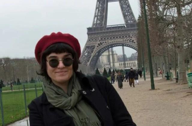 Jéssica em Paris — Foto: Arquivo pessoal/Jéssica Duarte