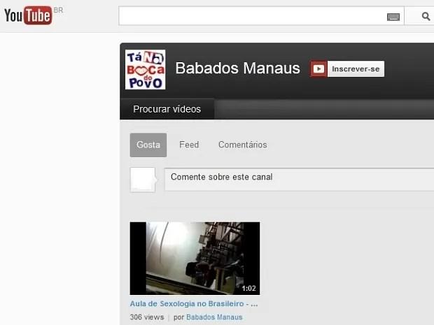 Video foi publicado no Youtube e retirado do ar após denúncias (Foto: Reprodução/Youtube)
