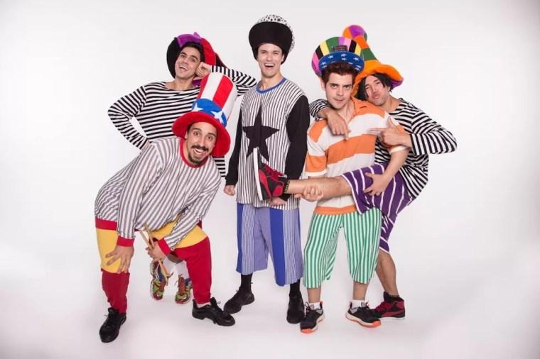 Musical Mamonas volta a Natal neste fim de semana (Foto: Divulgação)
