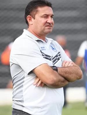 Jorge Pinheiro, treinador do Atlético-PB (Foto: Magnus Menezes / Jornal da Paraíba)