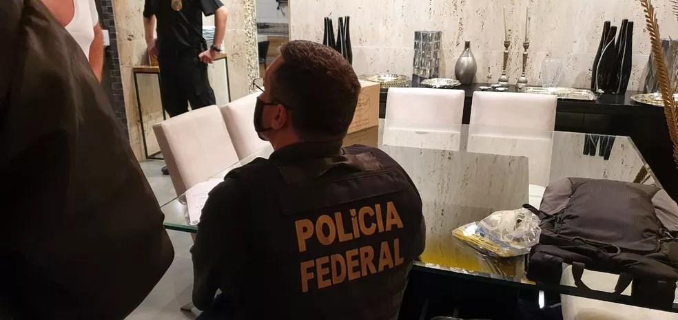 Operação da Polícia Federal de Sorocaba combate tráfico de mulheres para fins de exploração sexual — Foto: Polícia Federal/Divulgação