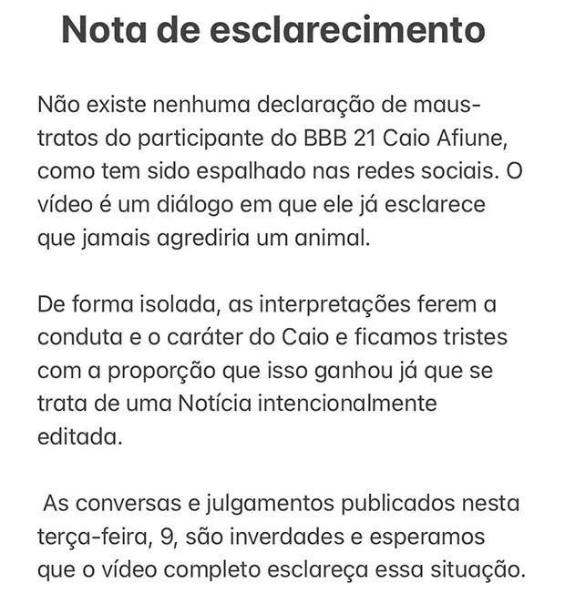 Caio (Foto: Reprodução/ instagram)