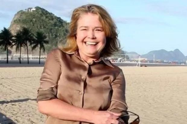 A atriz  Desireé Vignolli, de 52 anos, teve um infarto agudo do miocárdio (Foto: Arquivo pessoal)