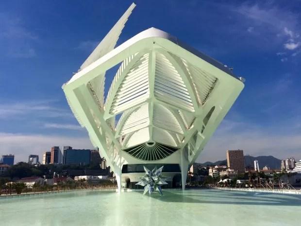 Museu do Amanhã foi inaugurado neste sábado para o público (Foto: Lívia Torres/G1)