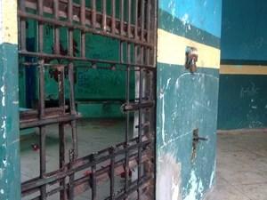 No início de dezembro, seis internos serraram a grade das celas do bloco 3 do Cesein (Foto: Abinoan Santiago/G1)