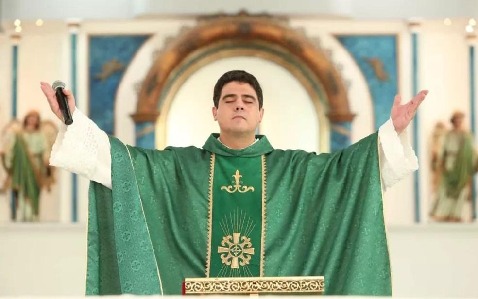 Padre Robson é um dos investigados na operação que apura irregularidades na Afipe — Foto: Afipe/Divulgação
