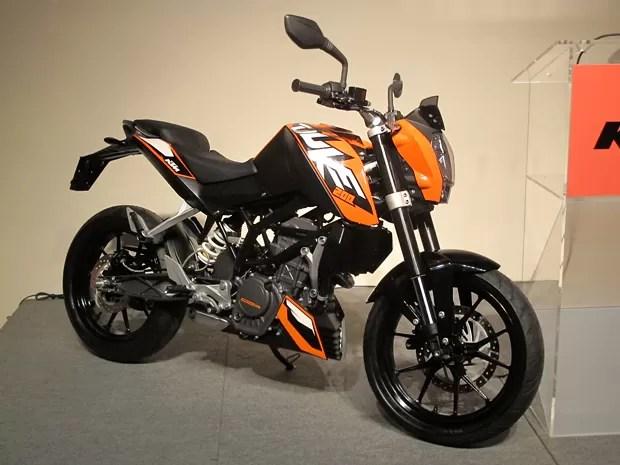 ktm390_duke - KTM define preço sugerido para a Duke 200
