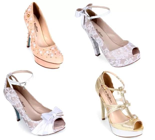 Linha de sapatos de Lethicia Bronstein para Carmen Steffens (Foto: Divulgação)