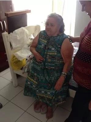 Luiza Garcia de Andrade completa 100 anos nesta quinta-feira (2) (Foto: Jackcson Félix/G1)