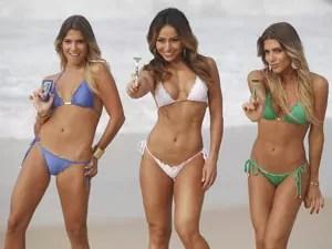 Campanha da Gillette teve a participação de Sabrina Sato e das gêmeas Bia e Branca Peres (Foto: Divulgação)