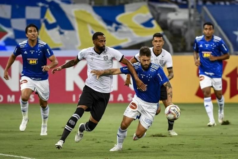 Cruzeiro ficou no empate com Figueirense, jogando no Mineirão — Foto: Divulgação/ Mineirão