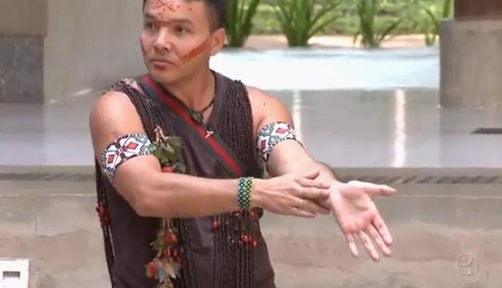 Jósimo diz que tem orgulho de ser indígena e que vai sempre lutar por melhorias para as tribos — Foto: Reprodução/Arquivo pessoal