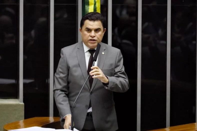 O deputado Wilson Santiago durante pronunciamento no plenário da Câmara em setembro do ano passado — Foto: Luis Macedo / Câmara dos Deputados