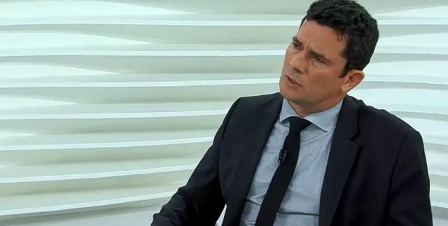 O juiz Sérgio Moro em entrevista ao programa 'Roda Viva, da TV Cultura, na noite desta segunda-feira (26) (Foto: Reprodução/TV Cultura)