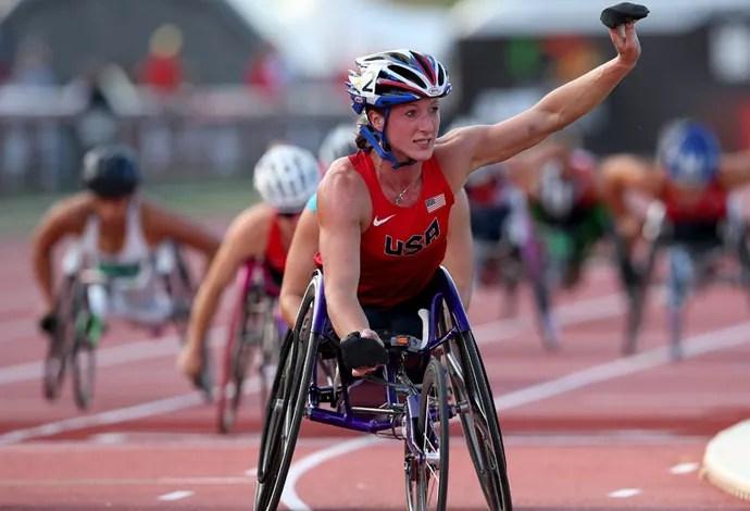 Tatyana McFadden Mundial Paralímpico de Atletismo (Foto: Getty Images)