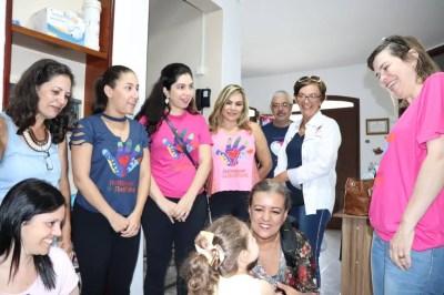 Oito voluntárias de vários Estados do Brasil participam da 1ª Caravana de Psicólogos da Fraternidade sem Fronteiras, no IPESQ, em Campina Grande — Foto: IPESQ-FSF/Divulgação