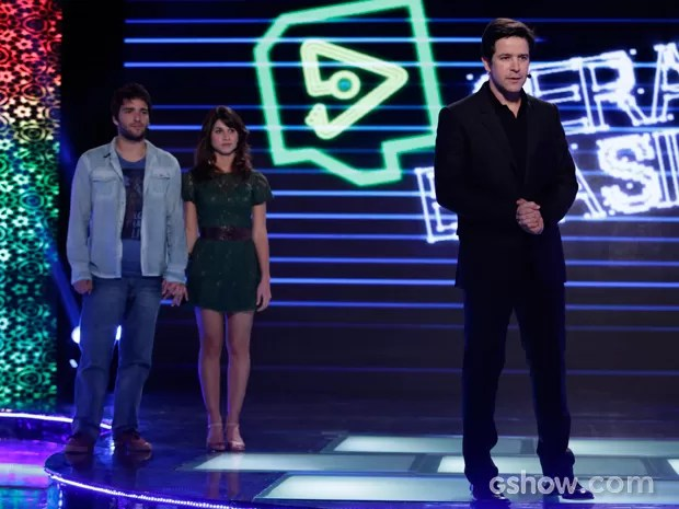 Jonas anuncia que Davi e Manu poderão concorrer juntos com o Filma-E (Foto: Fábio Rocha)