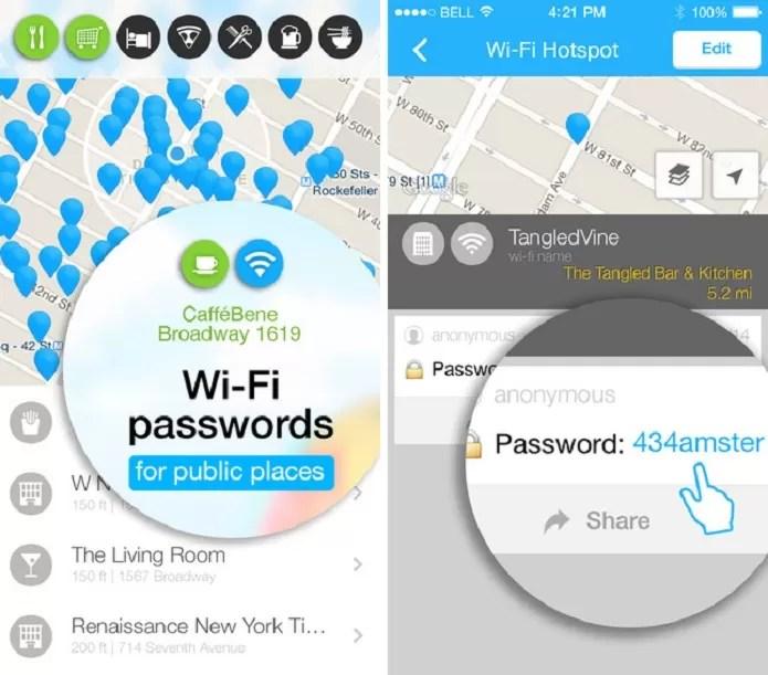 WiFi Map tem uma pegada mais social (Foto: Divulgação/App Store)