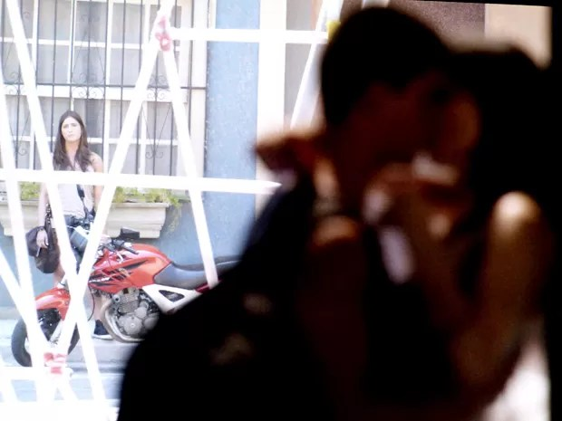 Nat fica megatriste ao ver Duanca (Foto: TV Globo)