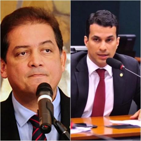 Eduardo Gomes e Irajá Abreu foram eleitos senadores pelo Tocantins — Foto: Montagem/G1