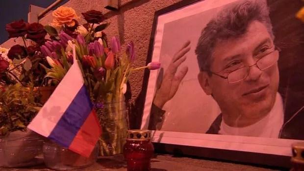 O político opositor Boris Nemtsov foi assassinado no ano passado (Foto: BBC)