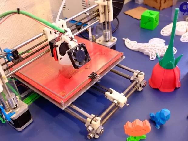 Open Lab: experiências com impressão em 3D (Foto: Divulgação/Luísa Fosco)