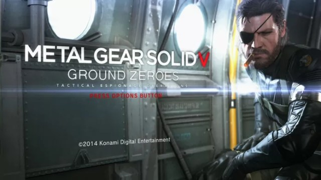 Metal Gear Solid V: Ground Zeroes é o prólogo de The Phantom Pain (Foto: Reprodução/GameSpot)