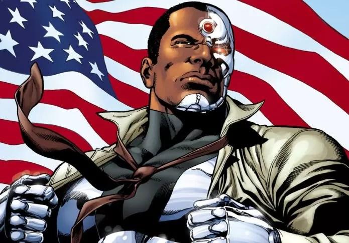 O personagem Cyborg, da DC Comics (Foto: Divulgação)