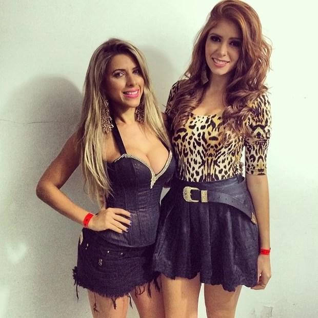 Ana Paula Minerato e a ex-BBB Amanda Gontijo (Foto: Reprodução / Instagram)