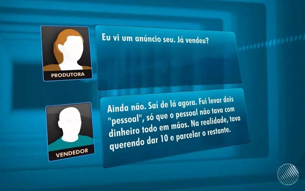 Beneficiários anunciam venda de apartamentos que ainda nem foram quitados na Bahia (Foto: Reprodução/TV Bahia)