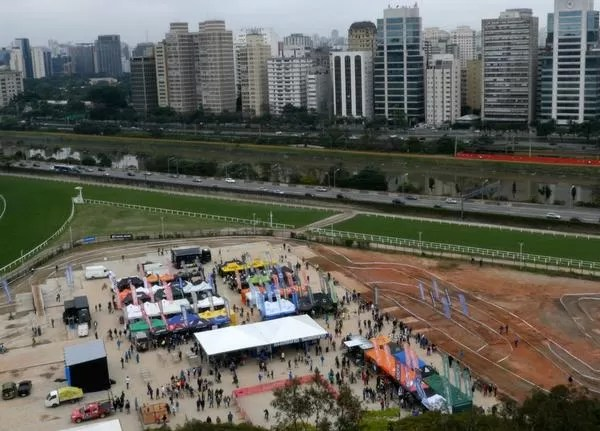 Vista aérea de Jockey de SP