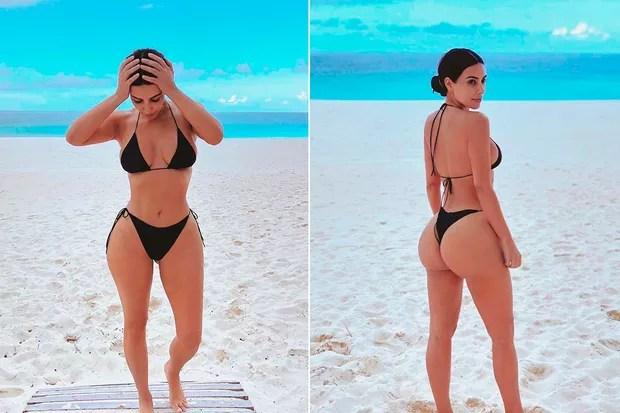 Kim Kardashian (Photo: Reproduction/ Instagram)