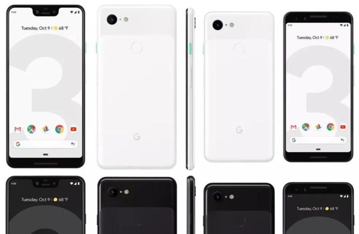 Google Pixel 3 sucede Pixel 2 com ficha técnica avançada e preço a partir de US$ 799 (cerca de R$ 3.020 em conversão direta) — Foto: Reprodução/Evan Blass