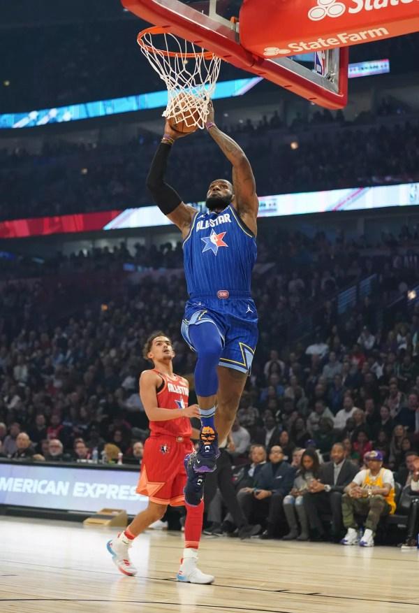 Novo formato empolga, e Time LeBron vence o Time Giannis em All-Star que entra para a história